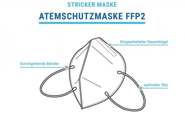 Stricker Atemschutzmaske FFP2 - Vorteile