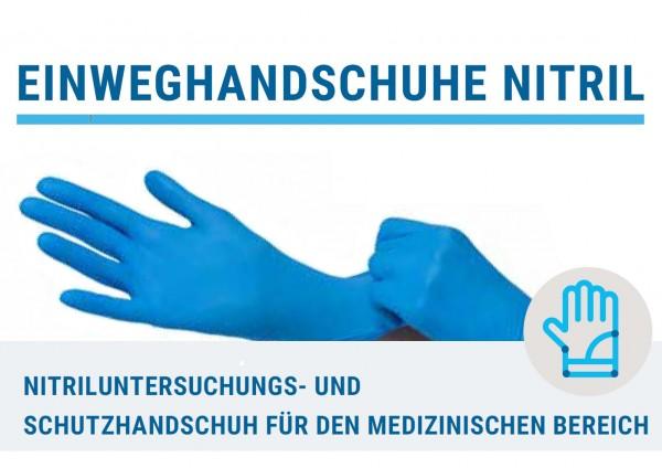 Nitril-Untersuchungshandschuh und -Schutzhandschuh für den medizinischen Bereich